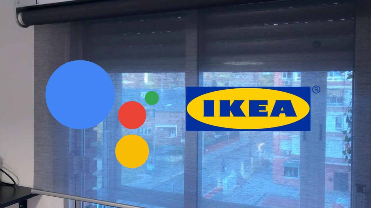 Probamos el estor inteligente y automático KADRILJ de IKEA.