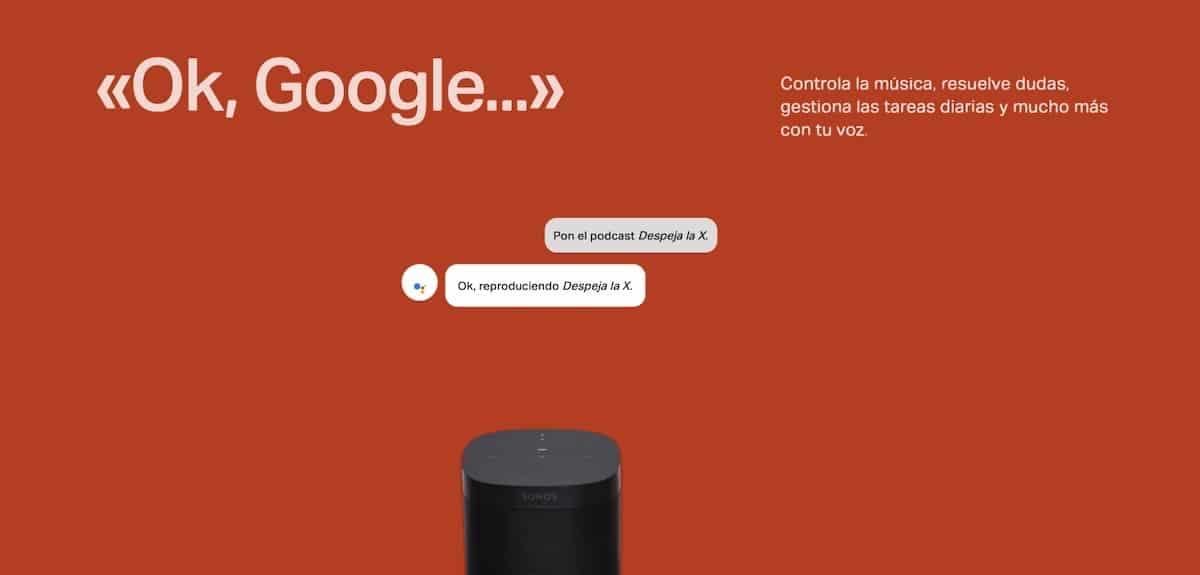 Sonos - Google Assistant