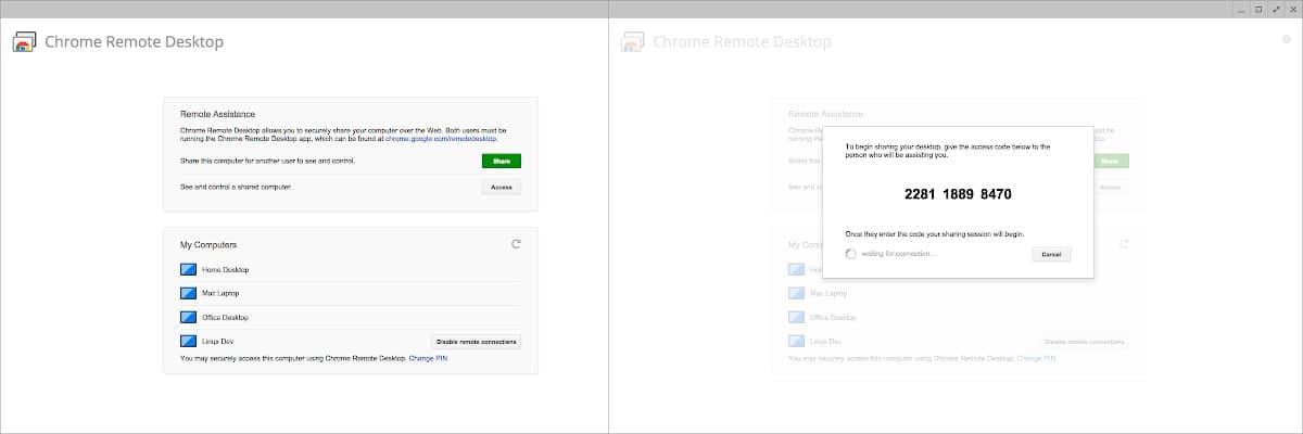 Google Desktop Remote