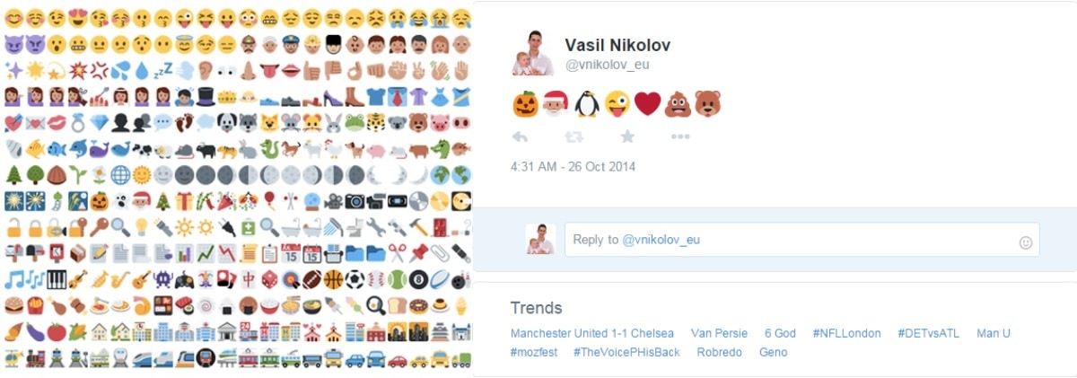 Twitter Emoticons