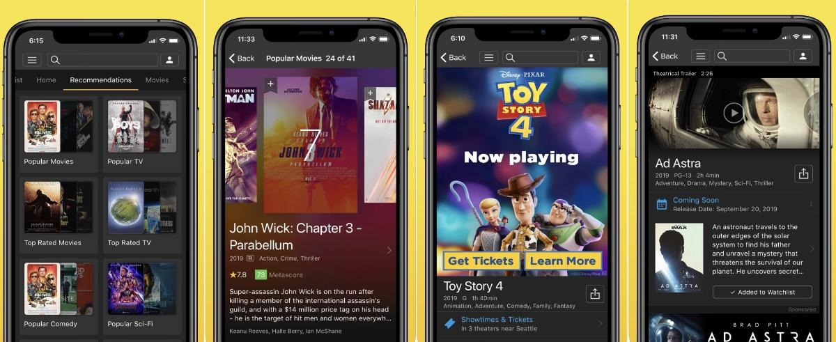 IMDB -seguir nuestras series y películas favoritas desde nuestro smartphone
