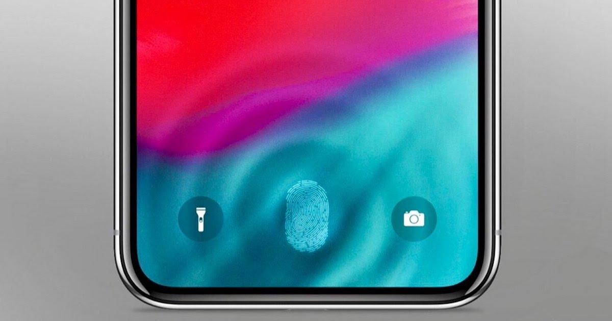 Touch ID en pantalla