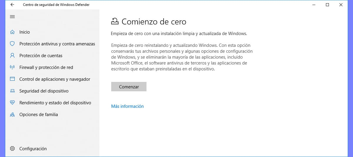 Borrar bloatware en Windows