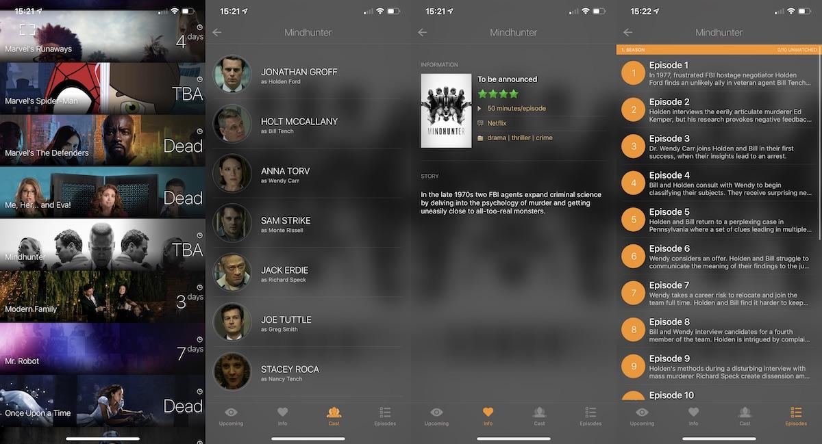 TeeVee - seguir nuestras series y películas favoritas desde nuestro smartphone