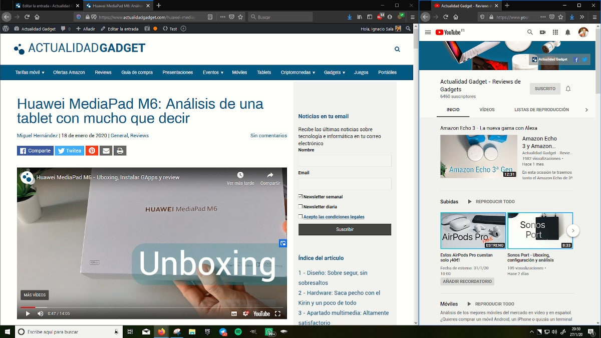Modificar tamaño ventanas Windows 10