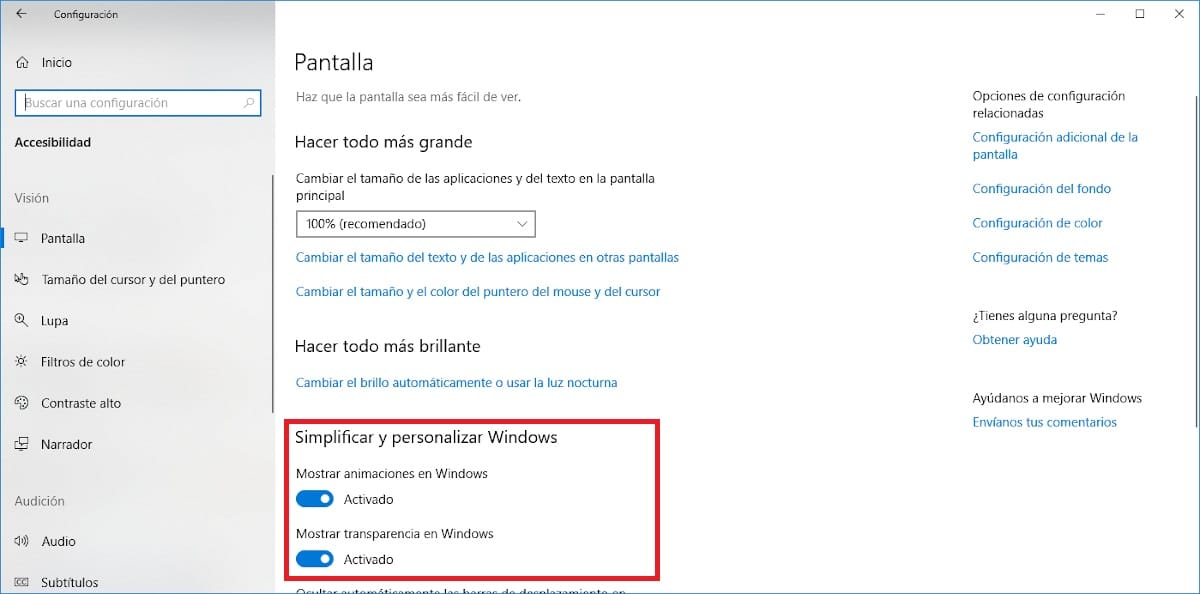 Desactivar animaciones <strong>Windows℗</strong> 10″ width=»1200″ height=»594″ srcset=»https://www.actualidadgadget.com/wp-content/uploads/2020/01/desactivar-animaciones-windows-10.jpg 1200w, https://www.actualidadgadget.com/wp-content/uploads/2020/01/desactivar-animaciones-windows-10-300×149.jpg 300w, https://www.actualidadgadget.com/wp-content/uploads/2020/01/desactivar-animaciones-windows-10-1024×507.jpg 1024w, https://www.actualidadgadget.com/wp-content/uploads/2020/01/desactivar-animaciones-windows-10-320×158.jpg 320w, https://www.actualidadgadget.com/wp-content/uploads/2020/01/desactivar-animaciones-windows-10-830×411.jpg 830w, https://www.actualidadgadget.com/wp-content/uploads/2020/01/desactivar-animaciones-windows-10-400×198.jpg 400w, https://www.actualidadgadget.com/wp-content/uploads/2020/01/desactivar-animaciones-windows-10-500×248.jpg 500w» sizes=»(max-width: 1200px) 100vw, 1200px»></p> <p><aside id=