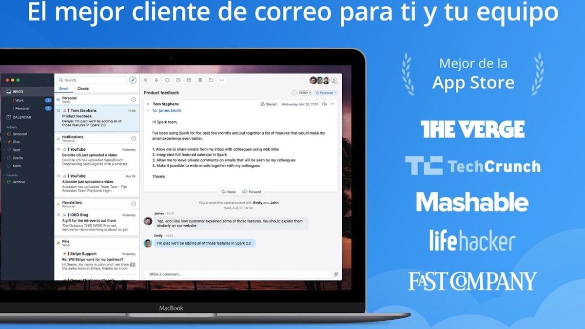 Descargar Spark para Mac