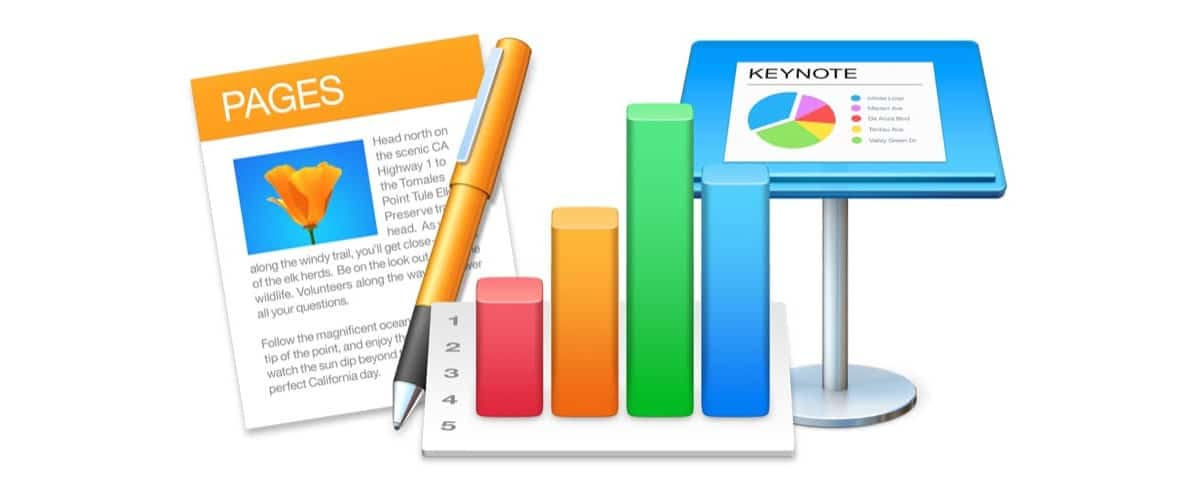 Pages, Numbers y Keynote