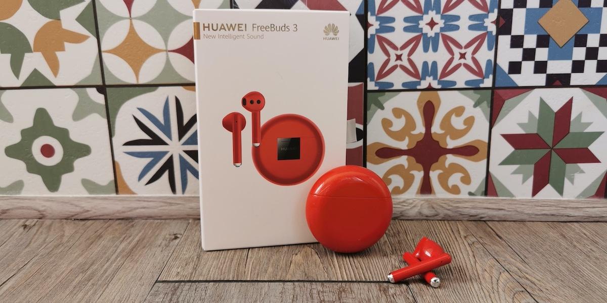 Huawei FreeBuds 3, analizamos la nueva edición en color rojo