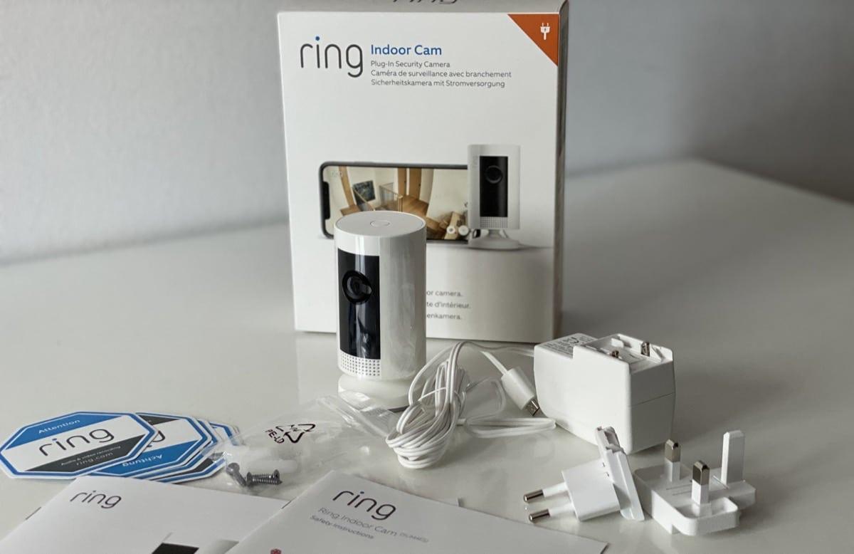Ring Indoor Cam contenido