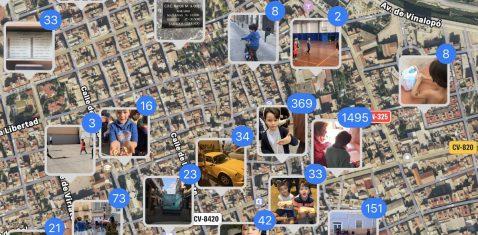 Ver ubicación imágenes iOS iPhone