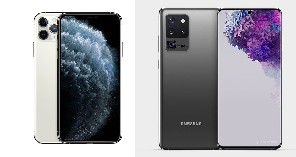 iPhone 11 Pro Max vs Galaxy S20 Ultra