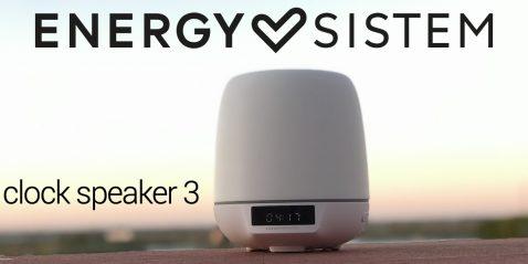 Energy Sistem clock speaker 3 portada
