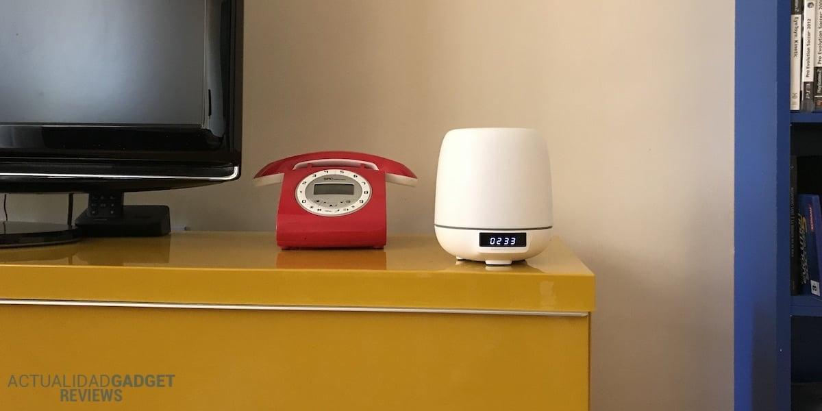 Energy Sistem clock speaker 3 salón