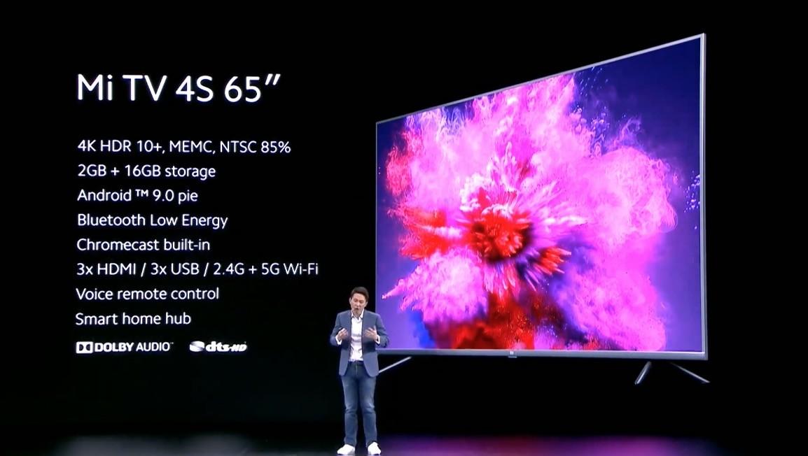 Presentación Tv Xiaomi