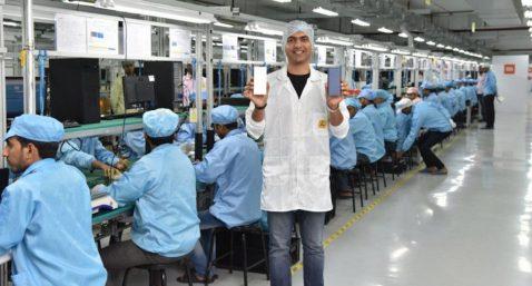 fabrica china smartphones