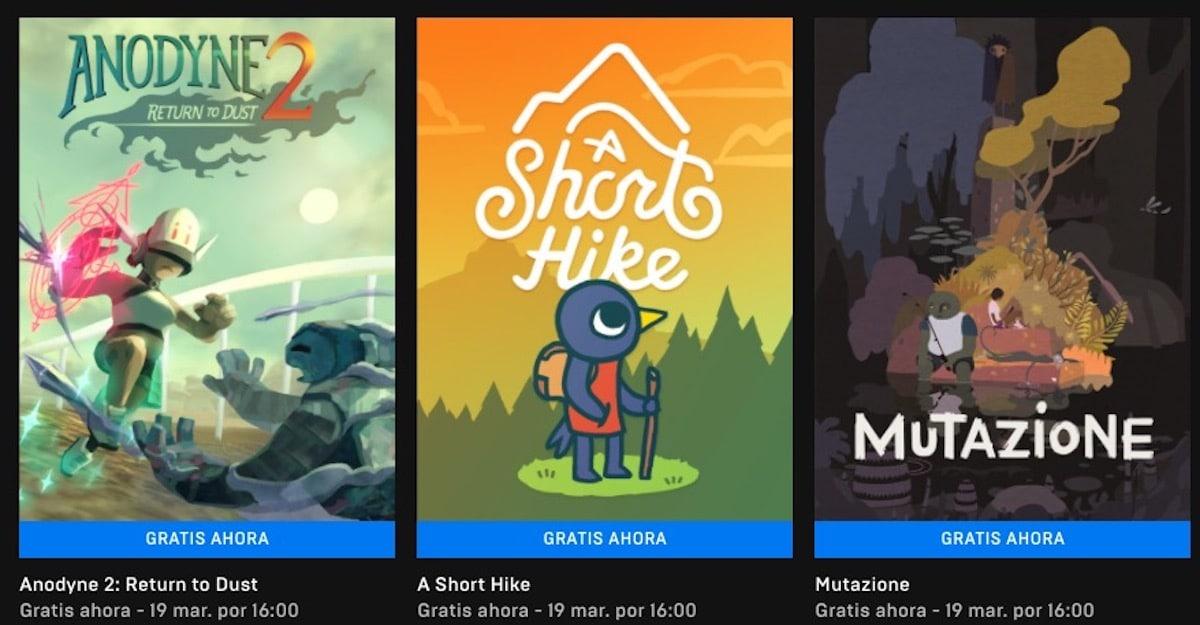 Juegos gratuitos Epic Games Store
