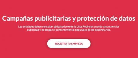 Empresas Lista Robinson