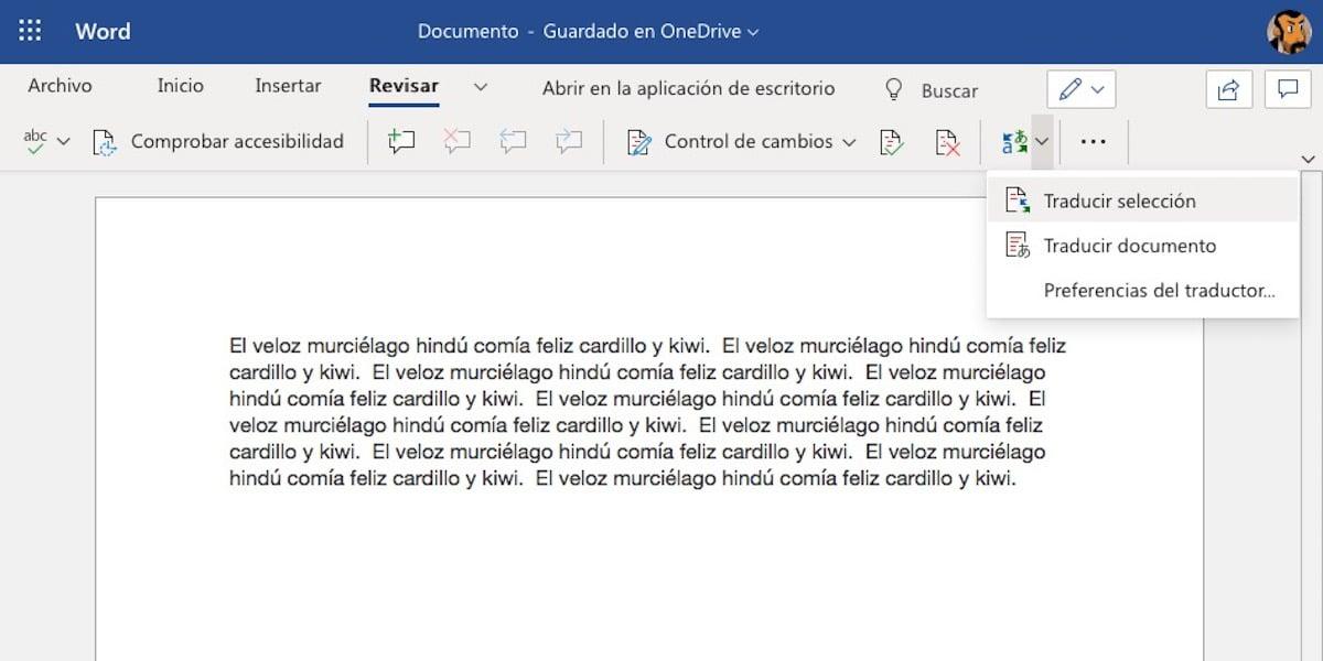 Trucos Microsoft Word - Traducir un documento, un párrafo o una línea