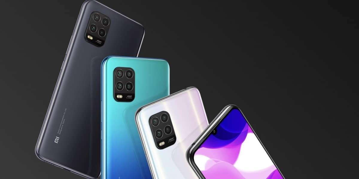 Xiaomi Mi 10 Lite colores
