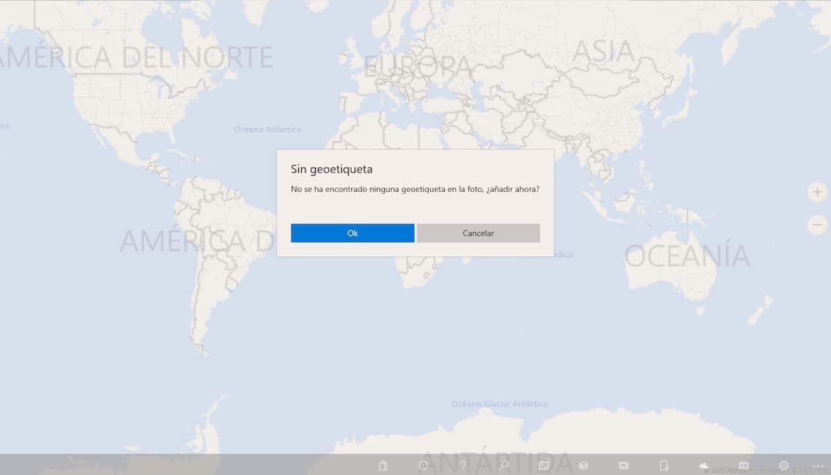 Añadir ubicación fotos en Windows
