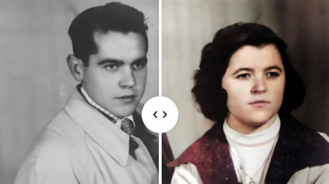 Colorear Fotos en Blanco y Negro