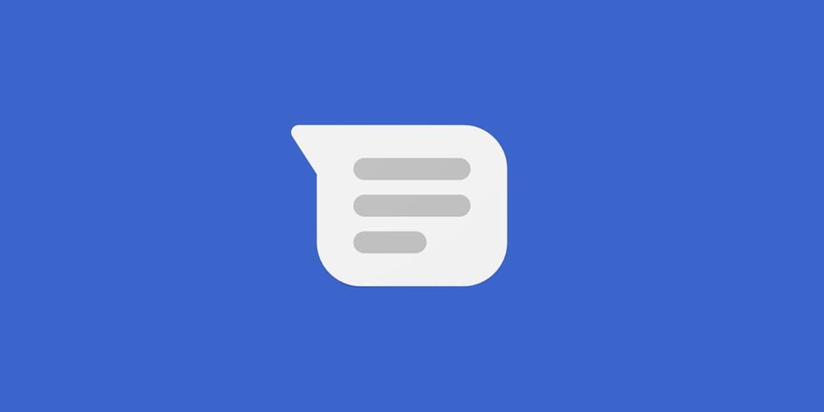 Logo icono aplicación Mensajes Google