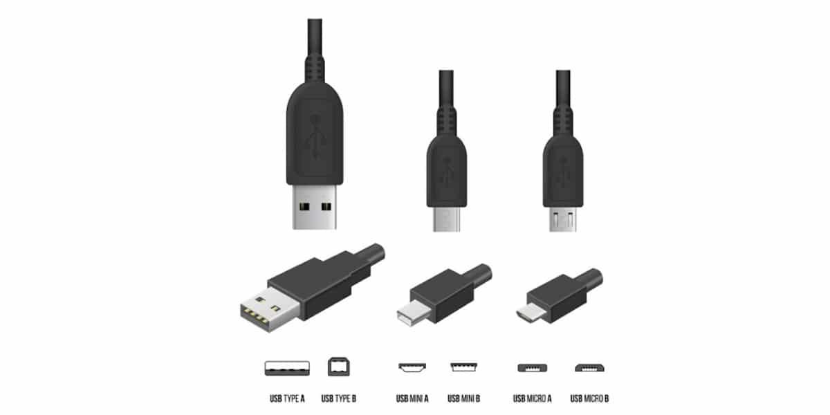 Tipos de USB