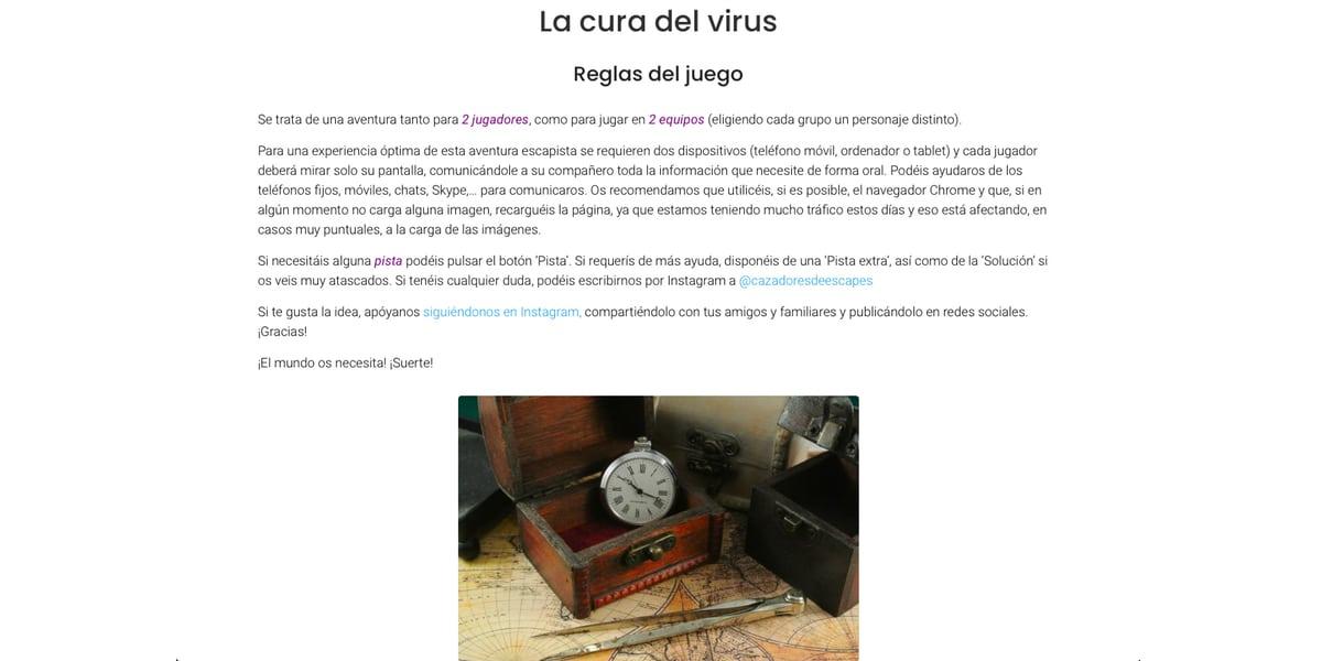 La cura del virus