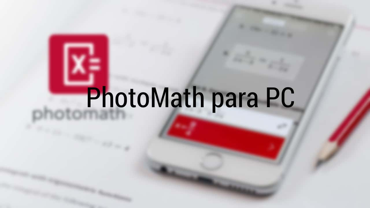 photomath para pc