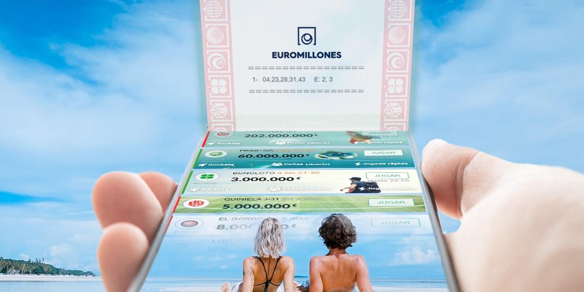 comprar lotería en el móvil