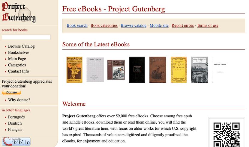 Project Guternbarg - Leer libros online